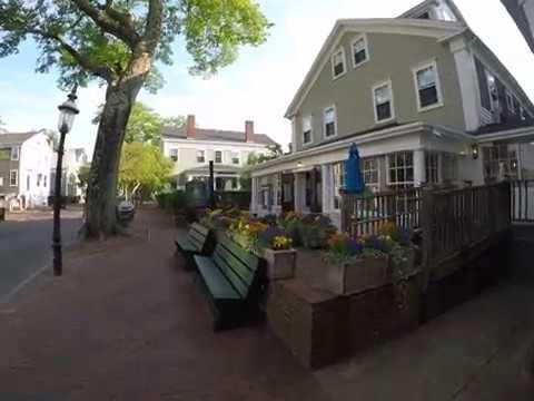 Main Street Nantucket Walk at 7am