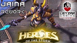 Heroes of the Storm (Gameplay) - Dreadlord Jaina Rework (HotS Jaina Gameplay Quick Match)