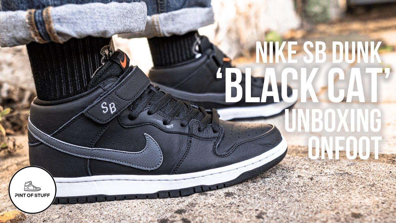 SLEEK - Nike SB Orange Label Dunk Mid