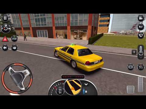 Taxi Sim - Android Game - Full HD Quality