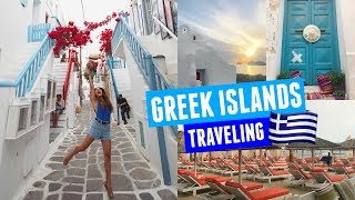 WALKING AROUND THE GREEK ISLANDS | Mykonos Day 3!