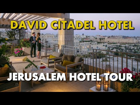 BEST JERUSALEM OLD CITY LUXURY HOTEL - David Citadel Hotel Deluxe Room Tour