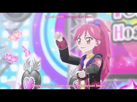 HD アイカツ! Red-White Aikatsu Battle Ichigo and Seira KIRA☆Power (Eng Sub)