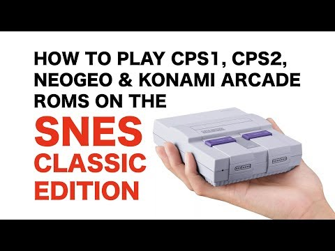 How to play CPS1, CPS2, NEOGEO and KONAMI ARCADE ROMS on the