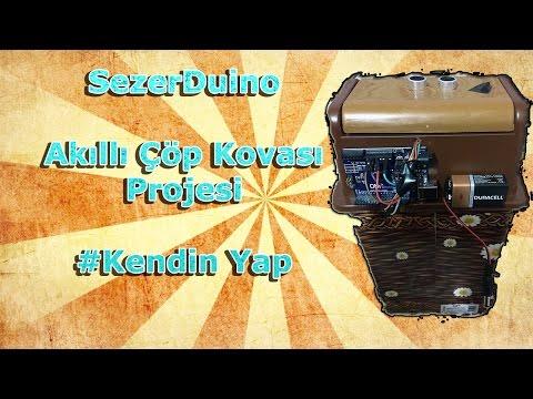 Arduino Akıllı Çöp Kovası | Kendin Yap #DIY