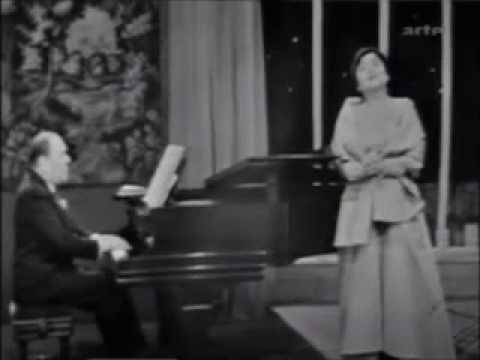 """Schubert, """"An die Musik"""" - Victoria de los Angeles; Gerald Moore (1957)"""