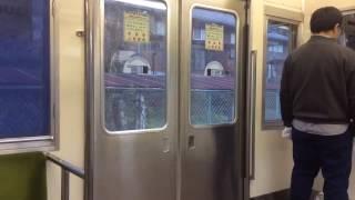 【爆弾ドア??】秩父鉄道5000系 ドア開閉シーン