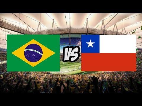 БРАЗИЛИЯ - ЧИЛИ L ЧМ-2018 L FIFA-ВАНГА ПРОГНОЗ