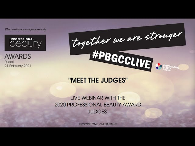 Meet The Judges at the Professional Beauty GCC Awards
