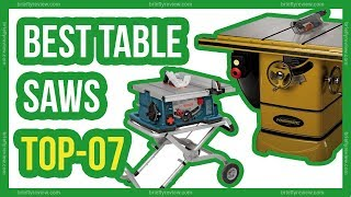 Top 07: Best table saws 2018