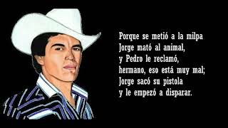 Chalino Sánchez - Los hermanos Mata (letra)