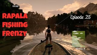 Rapala Fishing Frenzy/ The Ozarks on a Good Day pt25