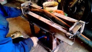 Самодельный трубогиб. Гибка трубы 57мм(, 2015-03-23T19:21:50.000Z)