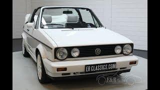 Volkswagen Golf MK1 Cabriolet 1994 -VIDEO- www.ERclassics.com