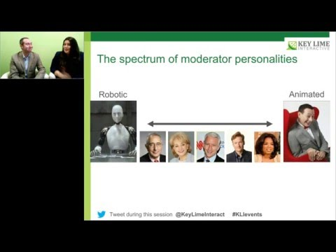 WEBINAR: So You Think You Can Moderate? Techniques to Enhance Your Moderating Skills