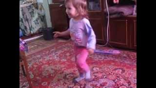 Детские танцы с 2- х лет или будующая Волочкова