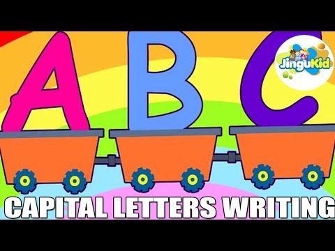 ABC - Learn To Write The Alphabets | Nursery Rhymes | Preschool | Kids | Kindergarten