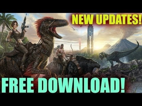 How To Download ARK Survival Evolved For FREE on PC [Windows 7,8,10] [TUTORIAL 2017]