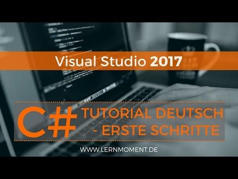 Visual Studio installieren & Erste Anwendung erstellen | C# Tutorial Deutsch