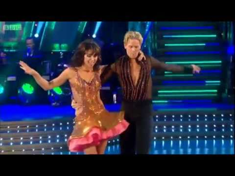 Christine Bleakley's Salsa - Strictly Come Dancing - BBC