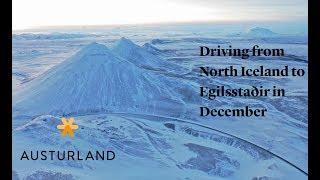 Driving from North Iceland to Egilsstaðir