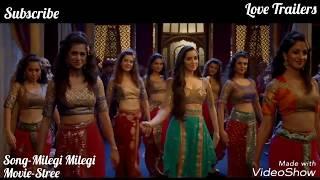 Milegi Milegi Video Song | Stree movie New Song | Mika Singh | Raj Kumar Rao | Shraddha Kapoor