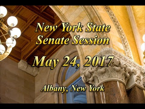New York State Senate Session - 05/24/17