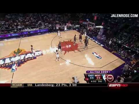 NBA All Star Game 2009 Highlights HD - Jalen Rose Analyzes