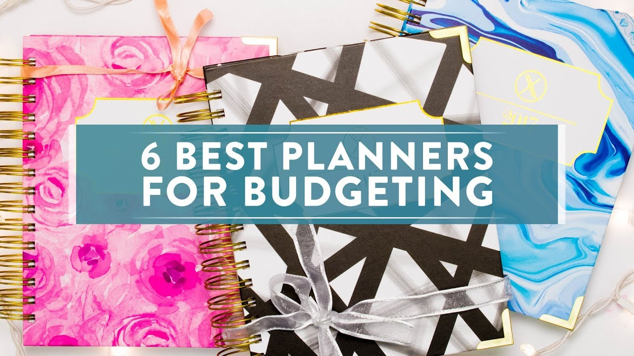 6 best planners for budgeting youtube
