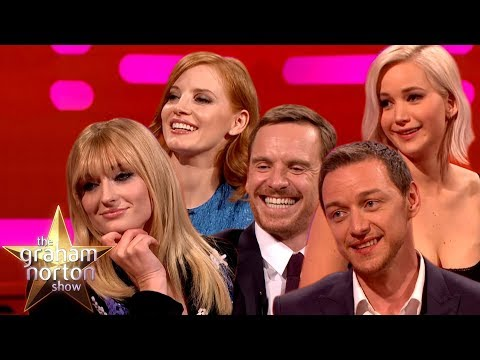 Graham Norton Takes On The Cast Of X-Men Dark Phoenix! | The Graham Norton Show