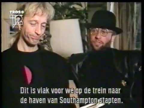 ROBIN & MAURICE GIBB with DJ Martijn Krabbé 1991