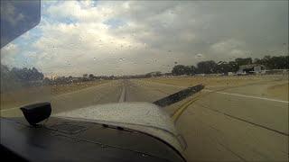 כביית מנוע בגישה סופית לנחיתה