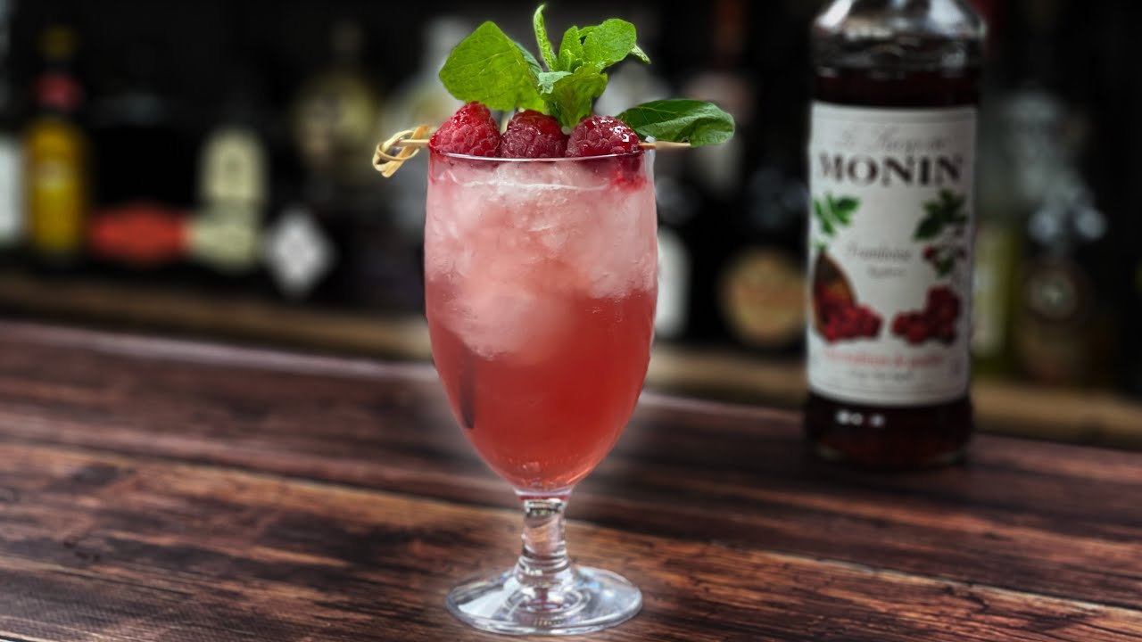 Raspberry Cocktails Recipes - with RHUBARB Vodka!