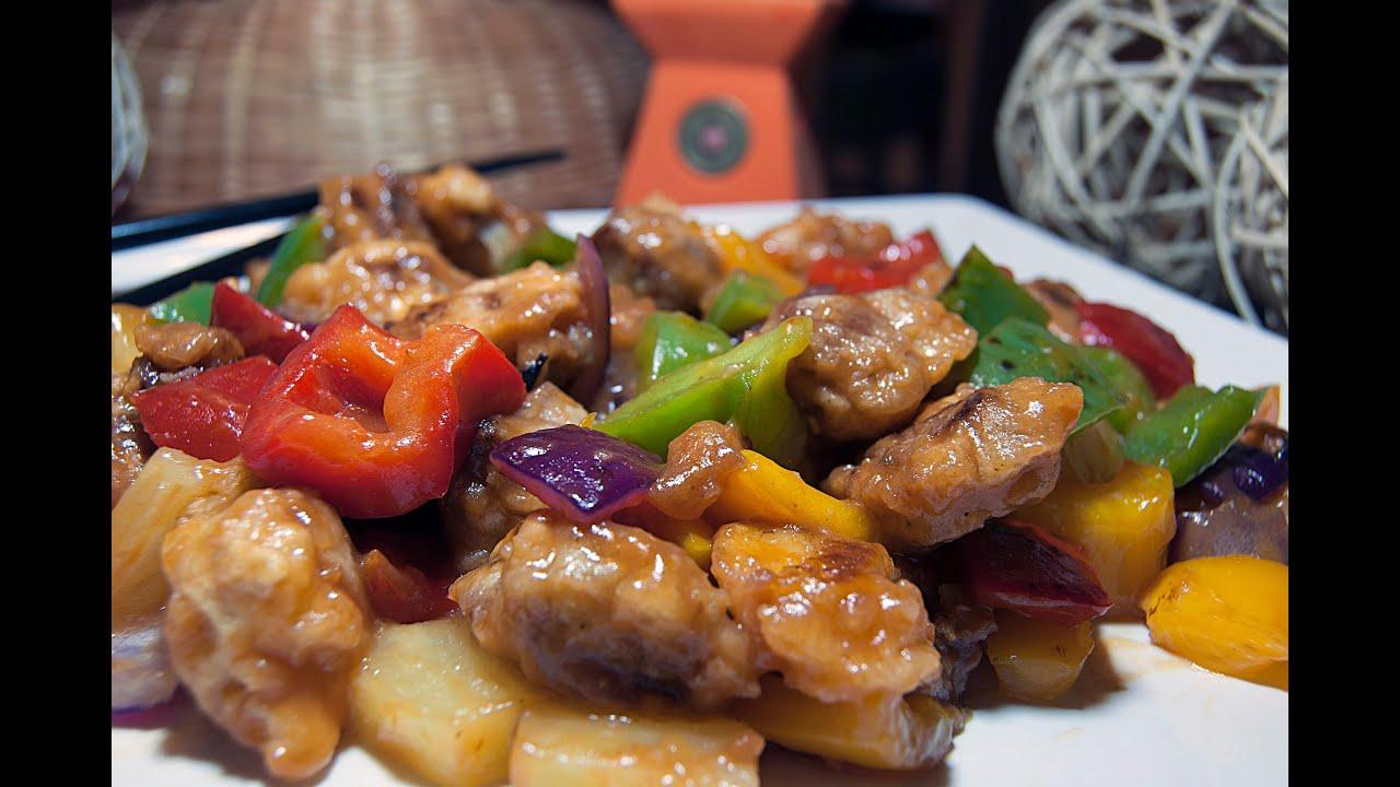 Cerdo agridulce estilo chino receta aut ntica sweet for Cocinar ostras