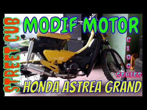 MODIFIKASI MOTOR GRAND JADI STREET CUB