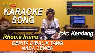 Download DERITA DIBALIK TAWA ~ KARAOKE NADA CEWEK