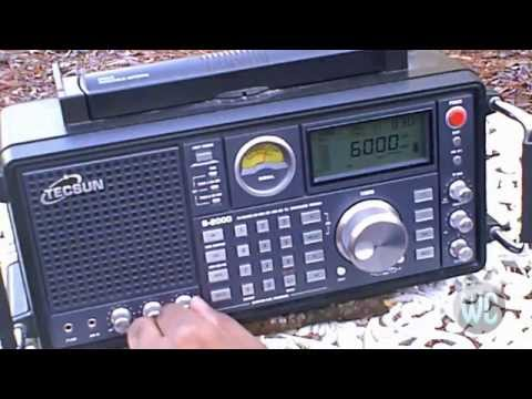 Tecsun S-2000 Shortwave Radio Demo