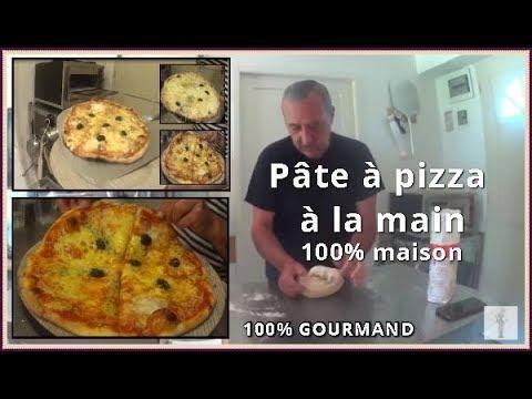 Pâte pizza à la main maison