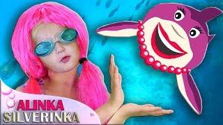 Kid Shark Sing and Dance! | Animal Songs for Children | Little Shark Story with Alinka Silverinka!