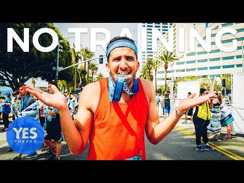 SAYING YES TO RUNNING A MARATHON WITH NO TRAINING - Is it possible?