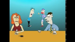 Discovery Channel Cartoon Animation