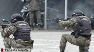 Спецназ устроил показательные учения на  Интерполитехе 2016