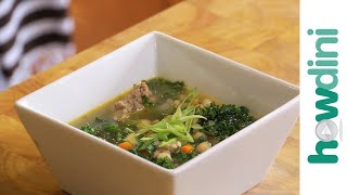 How To Make Kale, White Bean And Sausage Soup
