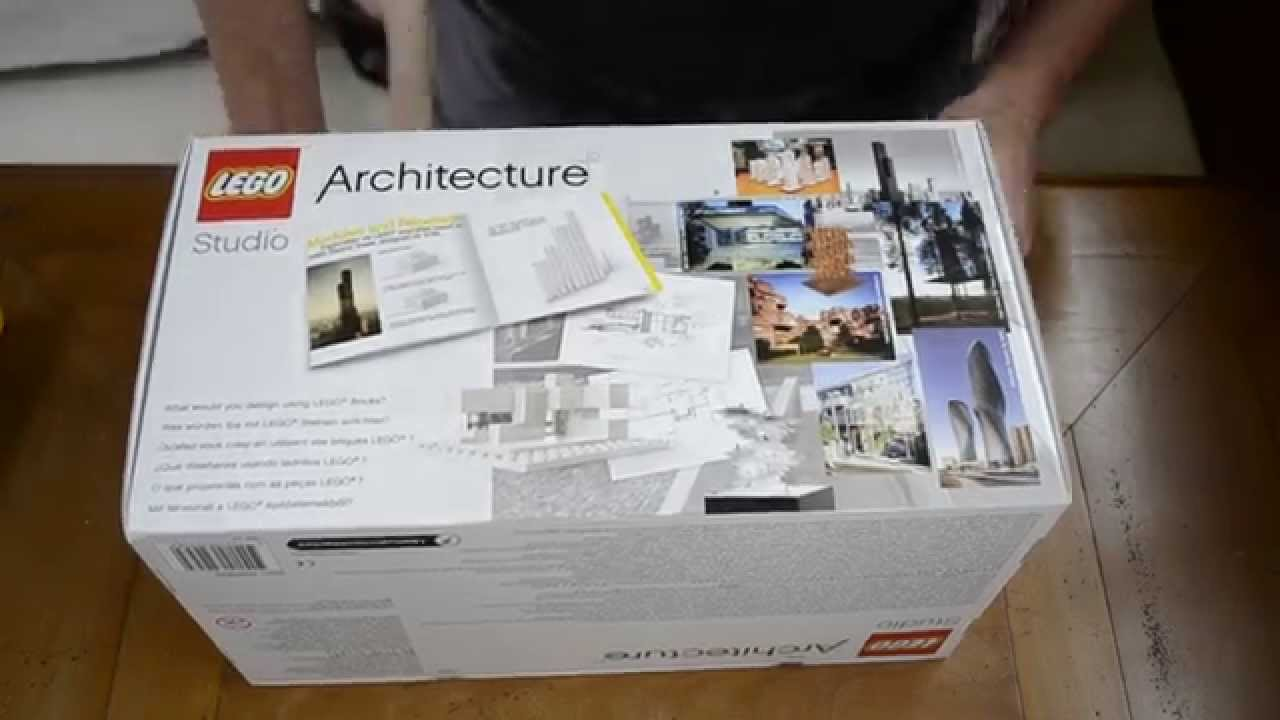 unboxing and review of the lego architecture studio part i youtube. Black Bedroom Furniture Sets. Home Design Ideas