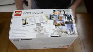 Unboxing and Review of the Lego Architecture Studio Part I