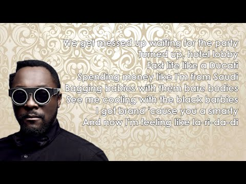 Will.i.am - Boys & Girls ft. Pia Mia (Lyrics)