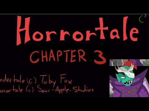 Horrortale Chapter 3 | Comic Dub