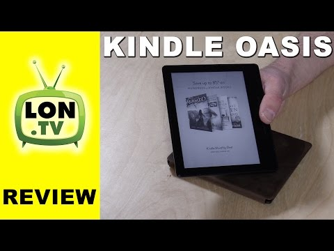 Amazon Kindle Oasis Review - Premium Electronic Ebook Reader