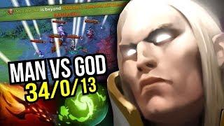 MAN vs GOD - Sumiya Best Invoker Ever Rampage 34 Kills Dagon Build 7.07 | Dota 2