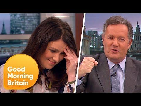 Piers Morgan Channels His Inner Yorkshireman  Good Morning Britain